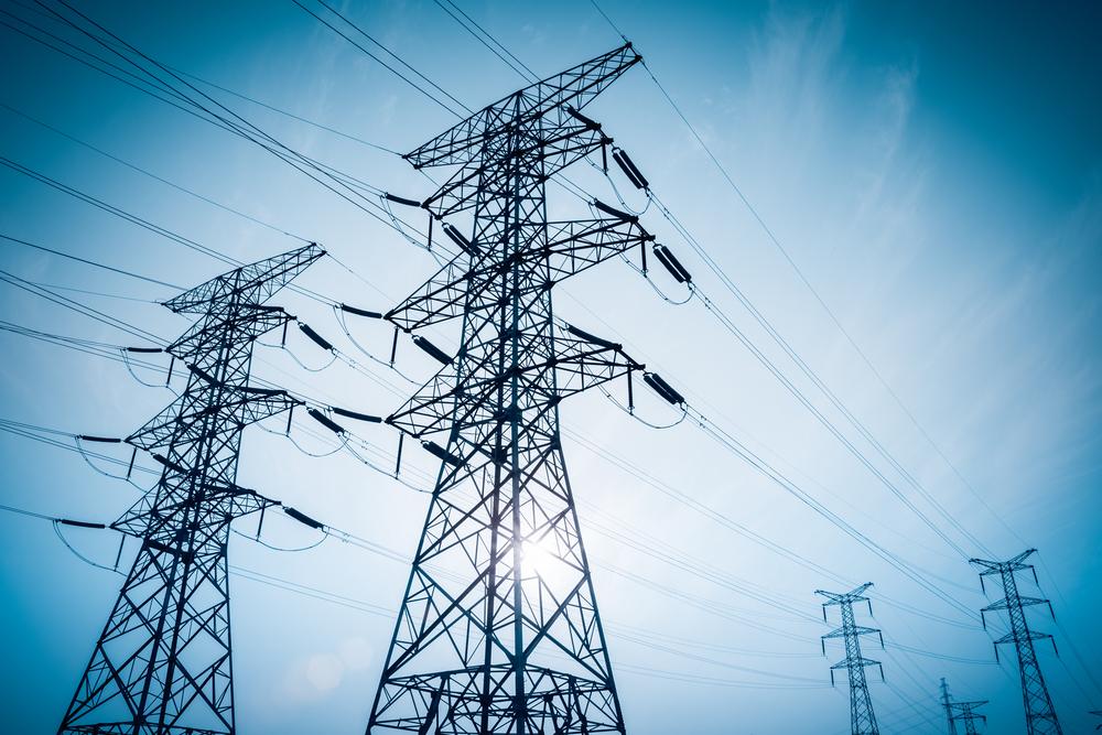 Electricity Pylons Backdrop